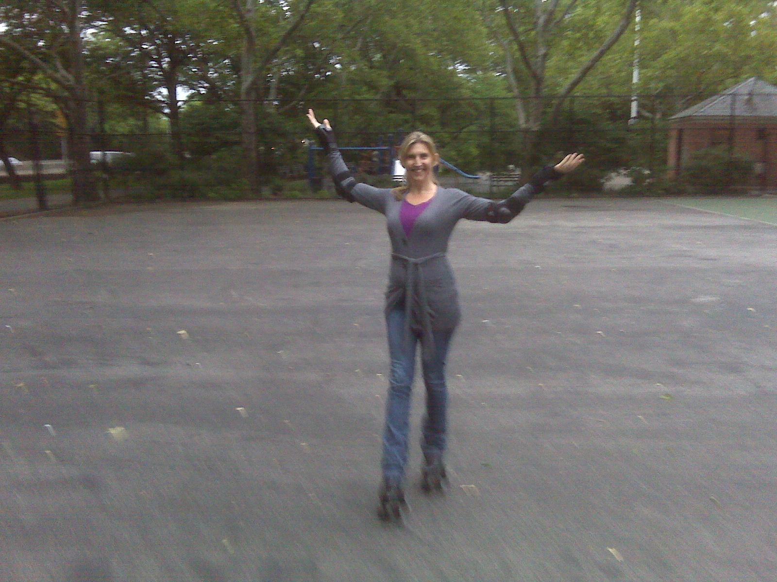 Skate Dance in Park